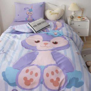 Комплект постельного белья детский с девочкой