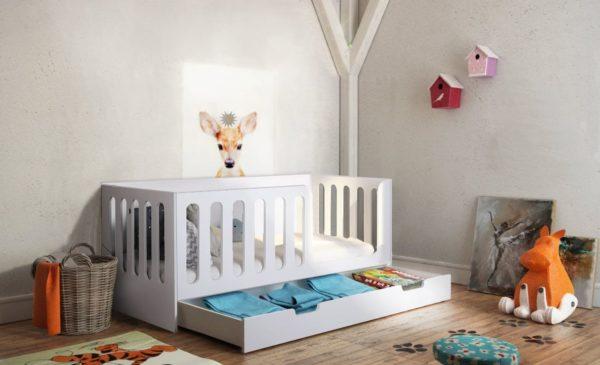 Кровать для детей с высокими бортиками