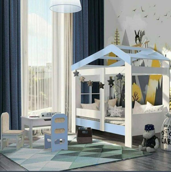 Купить детскую кровать в виде домика!
