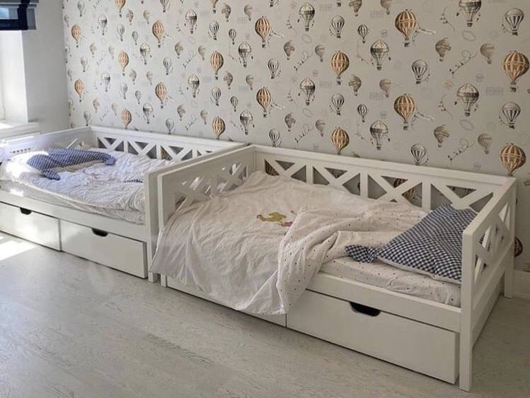 Детские кровати дерево Москва