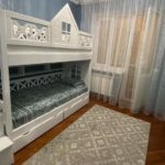 Двухъярусная кровать Домик с высокими бортиками