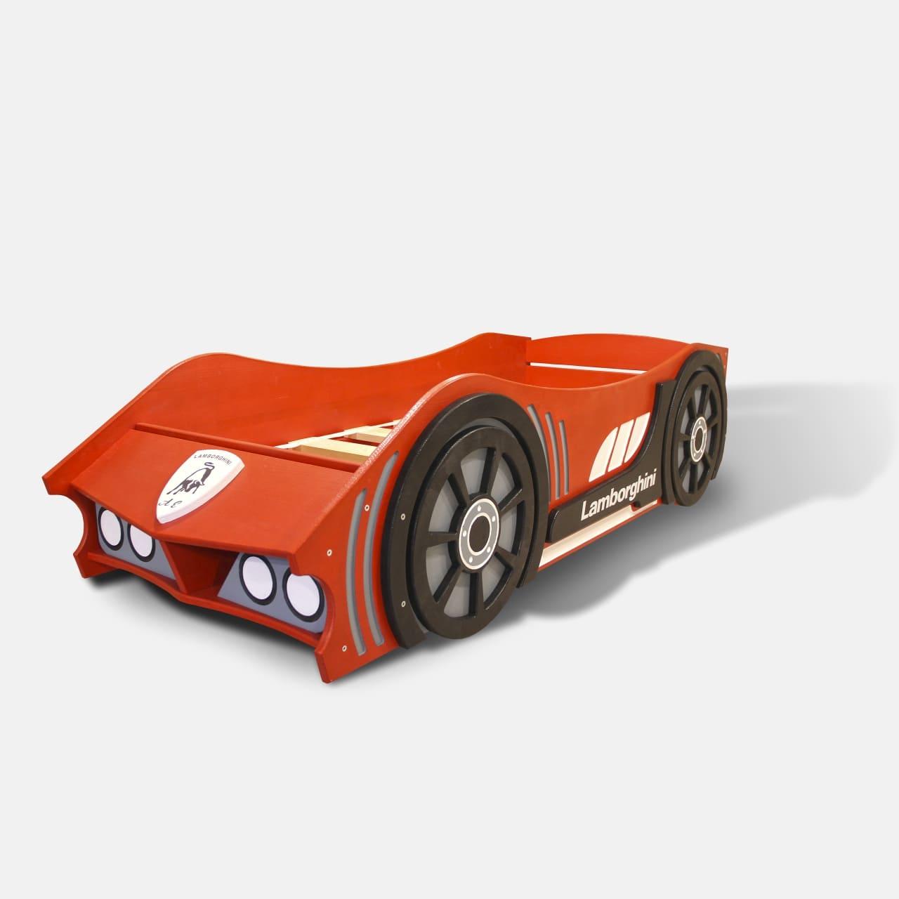 Новинка! Кровать машинка из дерева Ferrari