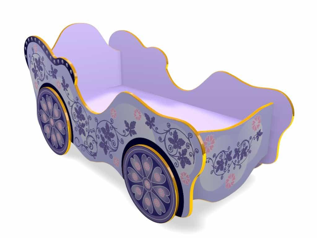 Детская кровать карета принцессы Сказка!