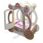 Уникальная кровать карета для Королевы!