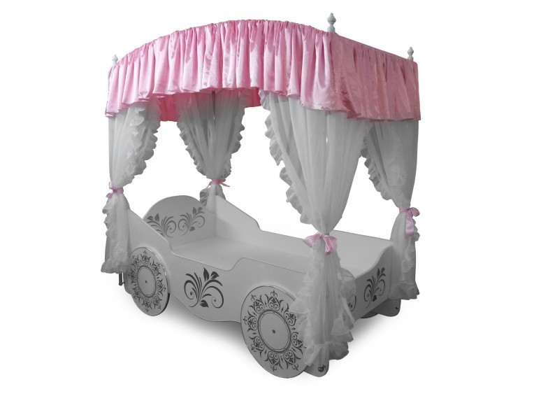 Новинка! Кровать для принцессы с балдахином