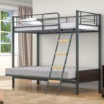 Кровать чердак икеа металлическая в интерьере