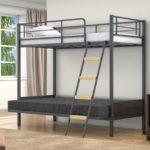 Икеа кровать чердак двуспальная металлическая