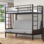 Кровать чердак рабочий зона
