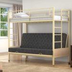 Двухъярусный металлический кровать цена