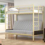 Икеа кровать детская двухъярусная металлическая