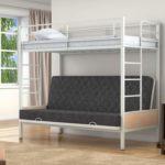 Металлическая двухъярусная кровать для детей