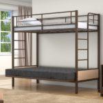 Детская кровать чердак с диваном внизу