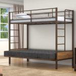 Металлическая двухъярусная кровать диван купить