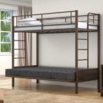 Кровать двухъярусная металлическая авито