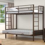 Кровать двухъярусная металлическая купить в СПБ