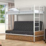 Детская металлическая кровать трансформер