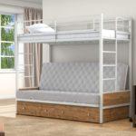 Кровать икеа детская белая металлическая