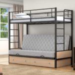 Кровати двухъярусные икеа металлические цена
