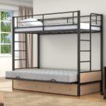 Металлическая двухъярусная кровать отзывы