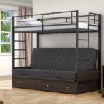 Размеры металлический двухъярусный кровать