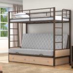 Кровать двухъярусная кровать чердак