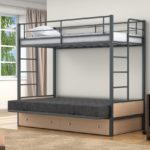Кровать двухъярусная металлическая купить в Новосибирске