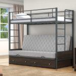 Детские двухъярусные кровати металлические купить