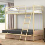 Кровати детские железные фото