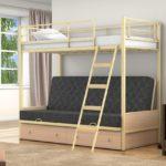 Купить детскую кровать железную