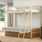 Купить детскую железную двухъярусную кровать в Екатеринбурге