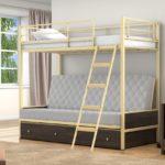Детские кровати железные красивые