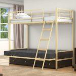 Кровать детская двухъярусная железная Челябинск