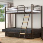 Двухъярусные кровати +для подростков металлические