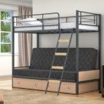 Металлическая двухъярусная кровать размеры