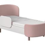 Детская кровать с мягкой спинкой и бортиком