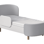 Подростковая кровать с мягкой спинкой!