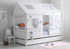 Кровати домики, чердаки