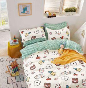 Комплект детского постельного белья Cute из сатина!