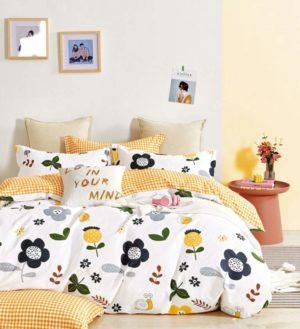 Яркий и практичный комплект детского постельного белья 1.5