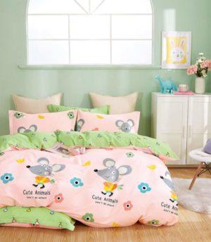 Купить детский комплект постельного белья. Бесплатная доставка