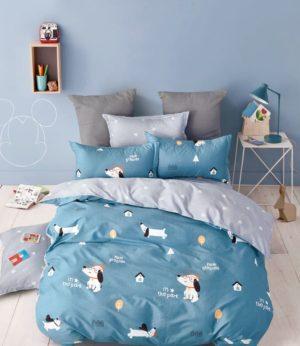 Комплект белья в детскую кроватку подойдёт в любую кровать