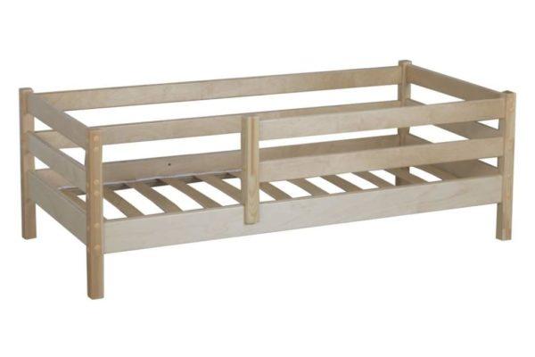 Детская кровать недорогая от года Кроха 1. Натуральное дерево!