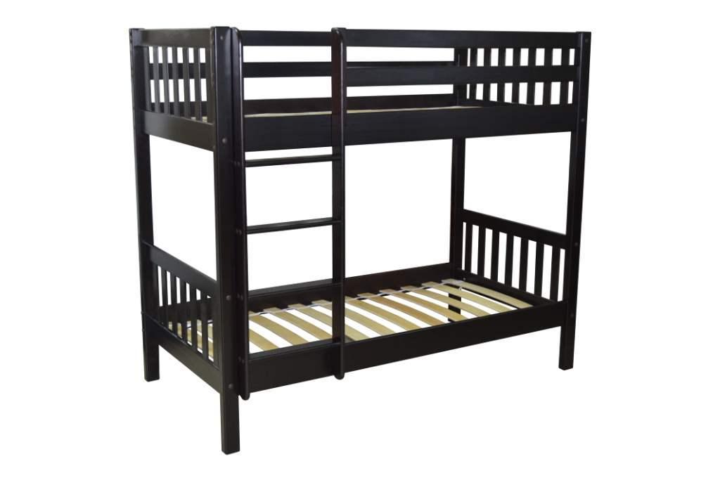 Мебель из дерева двухъярусная кровать Ладушки. Массив сосны!