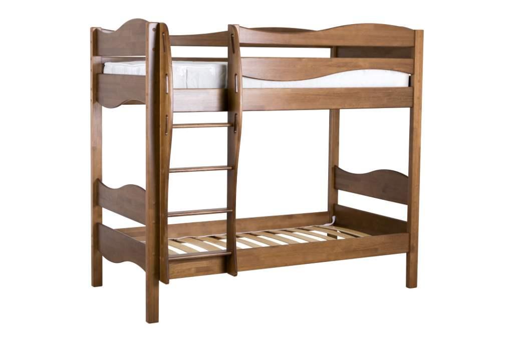 Двухъярусные кровати из массива дерева Москва, доставка 990р.