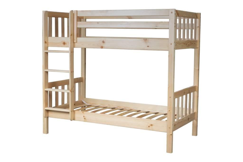 Двухъярусная кровать из массива дерева Ладушки Эко! Недорого