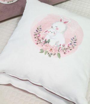 Декоративные подушечки с печатью