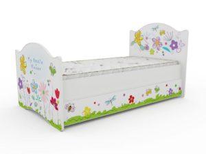 Цветочная детская кровать!