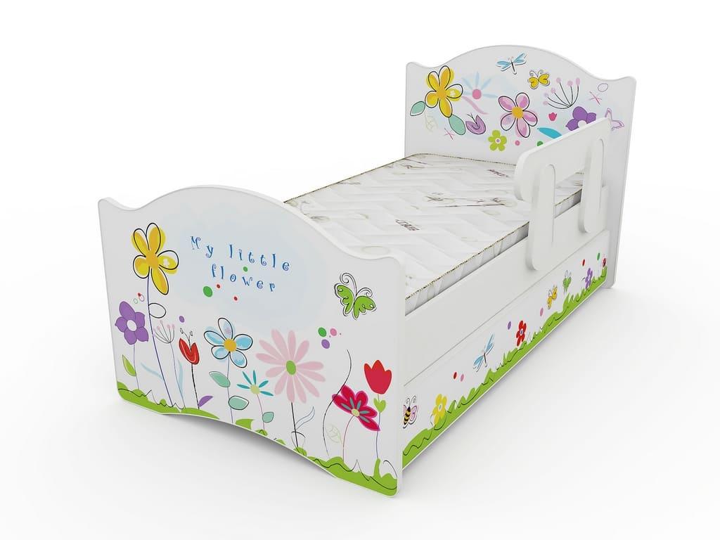 Детские кровати СПБ. Выдвижной ящик и бортик в комплекте!