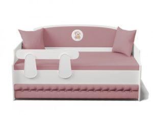 Кровать Тахта купить с мягкой спинкой