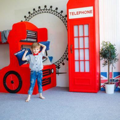 Шкаф телефонная будка - детская мебель Лондон!